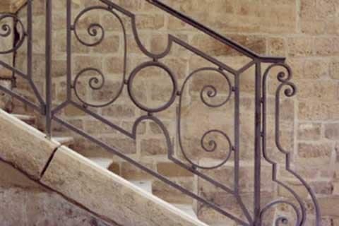 ferronerie paris ferronnier d 39 art garde corps escalier ets petit et fils. Black Bedroom Furniture Sets. Home Design Ideas